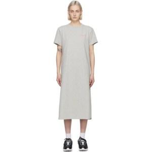 Helmut Lang Grey T Dress