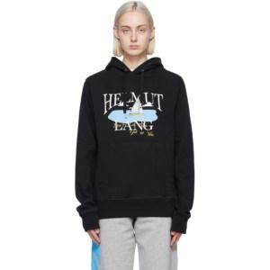 Helmut Lang Black Saintwoods Edition HL Ocean Hoodie