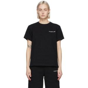 Helmut Lang Black Logo T-Shirt
