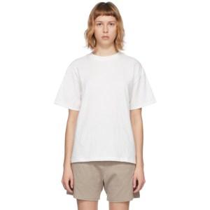 Essentials Three-Pack White Jersey T-Shirts