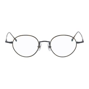 Matsuda Tortoiseshell and Black 10189H Glasses