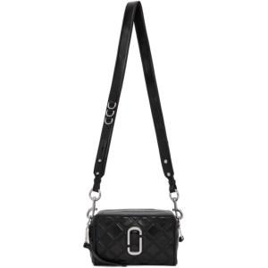 Marc Jacobs Black The Quilted Softshot 21 Shoulder Bag