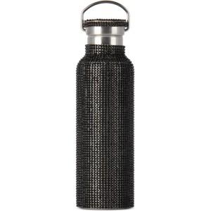 Collina Strada SSENSE Exclusive Black Rhinestone Water Bottle