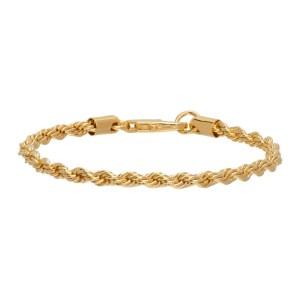 Laura Lombardi Gold Rope Chain Bracelet