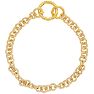 Laura Lombardi Gold Fede Necklace