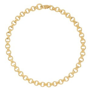 Laura Lombardi Gold Franca Chain Necklace