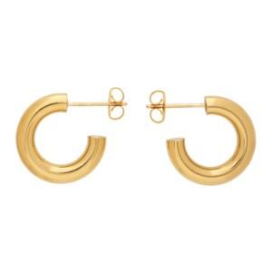 Laura Lombardi Gold Mini Hoop Earrings