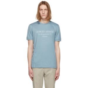 Giorgio Armani Blue Borgonuovo T-Shirt