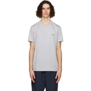 Lacoste Grey Pima Cotton T-Shirt