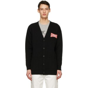 Givenchy Black Overszied Car Cardigan