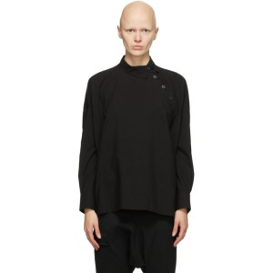 Regulation Yohji Yamamoto Black B Pullover Shirt