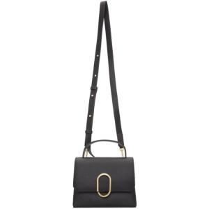 3.1 Phillip Lim Black Mini Alix Top Handle Bag