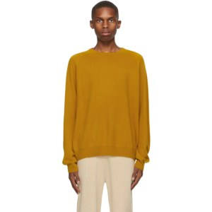 Frenckenberger Yellow R-Neck Sweater