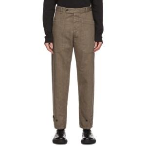 Barena Brown Rebaldo Trousers