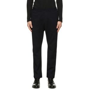 Barena Navy Corduroy Trousers