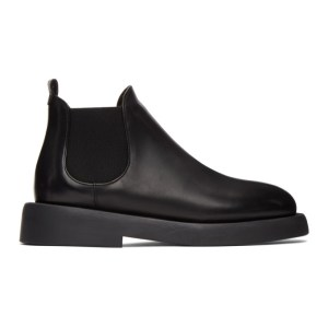Marsell Black Gommello Beatles Ankle Boots