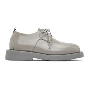 Marsell Grey Patent Gommello Derbys