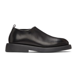 Marsell Black Gommello Slip-On Loafers