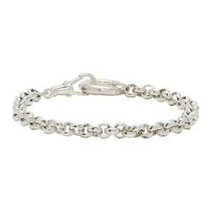 Bleue Burnham Silver B Bracelet
