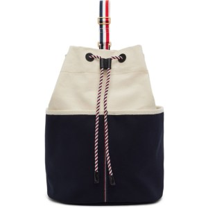 Thom Browne Off-White Sailor Backpack