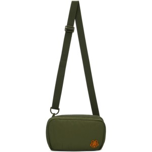 Kenzo Khaki K-Tiger Shoulder Bag