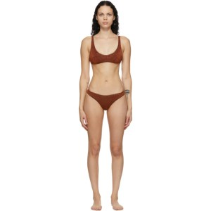 Oseree Brown Lumiere Sporty Bikini