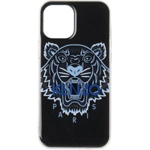 Kenzo Black Resin Tiger iPhone 12 Pro Max Case
