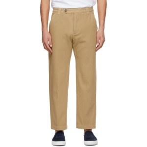 Kenzo Beige Cropped Trousers