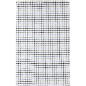BEAMS PLUS White Check Throw Blanket