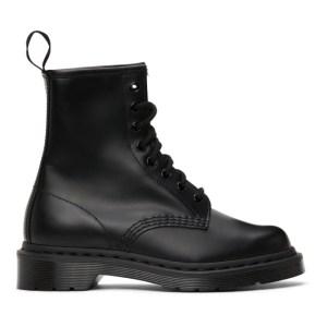 Dr. Martens Black Mono 1460 Boots