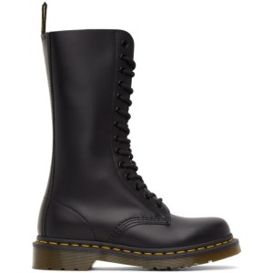 Dr. Martens Black Smooth 1914 Boots