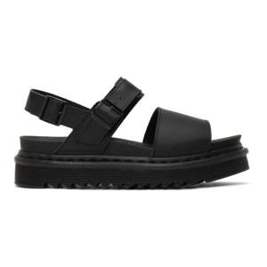 Dr. Martens Black Voss Sandals