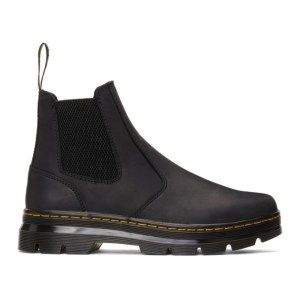 Dr. Martens Black 2976 Tract Boots