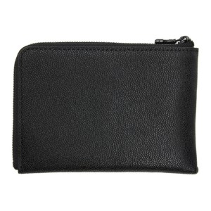 Master-Piece Co Black S.W Zip Card Holder