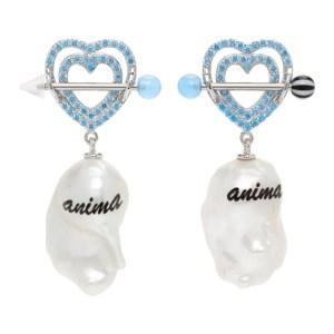 Jiwinaia Blue Pearl Anima Earrings