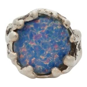 Mondo Mondo Silver and Blue Magician Ring