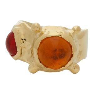 Mondo Mondo Yellow and Orange Pulp Ring