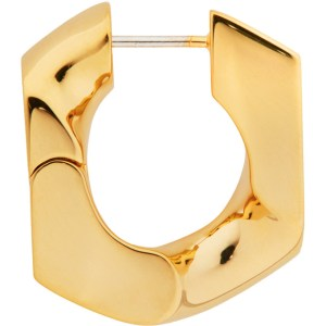 Numbering Gold 251 Single Earring
