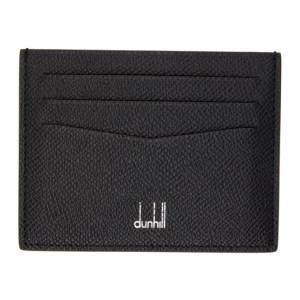 Dunhill Black Cadogan Card Holder