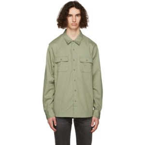Frame Green Double Pocket Shirt