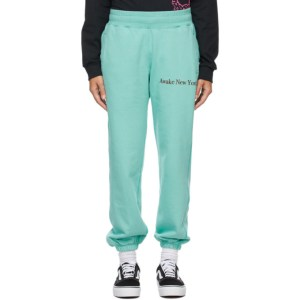 Awake NY Blue Classic Outline Logo Lounge Pants