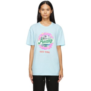 Awake NY Blue Strawberry Kiwi T-Shirt