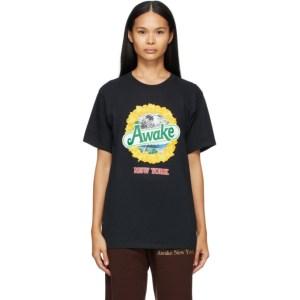 Awake NY Black Strawberry Kiwi T-Shirt