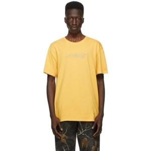 Awake NY Yellow Classic Outline Logo T-shirt
