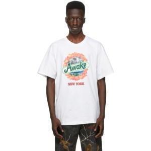Awake NY White Strawberry Kiwi T-Shirt