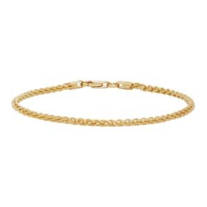 Hatton Labs SSENE Exclusive Gold Rope Bracelet