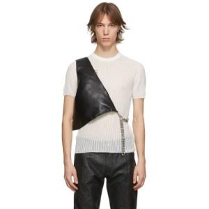 KARA Black Vest Messenger Bag