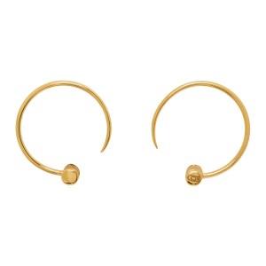 Dear Letterman Gold Aleyna Earrings