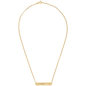 Dear Letterman SSENSE Exclusive Gold Alina Pendant Necklace