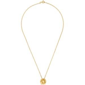 Dear Letterman Gold Siya Pendant Necklace